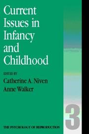 Cover of: Current issues in infancy and parenthood