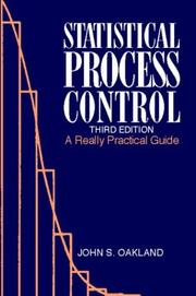 Statistical process control by John S. Oakland
