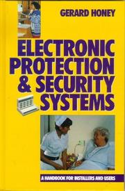 Electronic protection and security systems by G. Honey