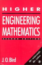 Cover of: Higher engineering mathematics | Bird, J. O.