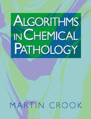 Cover of: Algorithms in chemical pathology