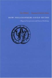 Cover of: How Philosophers Saved Myths | Luc Brisson