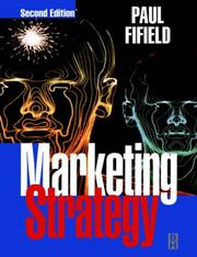 Cover of: Marketing strategy | Paul Fifield