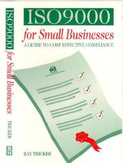 Cover of: ISO 9000 for small businesses