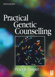 Cover of: Practical genetic counselling | Peter S. Harper