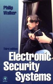 Cover of: Electronic security systems | Walker, Philip.