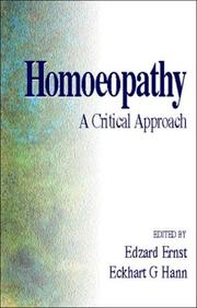Cover of: Homeopathy |
