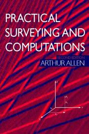Cover of: Practical surveying and computations