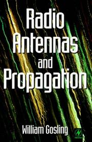 Cover of: Radio antennas and propagation