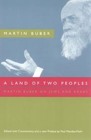 Cover of: A Land of Two Peoples: Martin Buber on Jews and Arabs