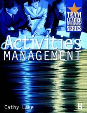 Cover of: Activities management