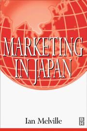 Cover of: Marketing in Japan | Ian Melville