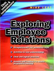 Cover of: Exploring employee relations