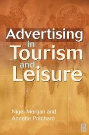 Advertising in Tourism & Leisure by Nigel Morgan, Annette Pritchard