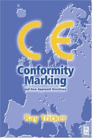 Cover of: CE Conformity Marking