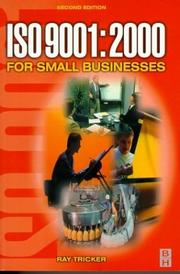 Cover of: ISO 9001:2000 for small businesses