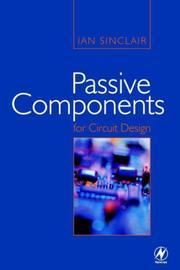 Cover of: Passive Components for Circuit Design
