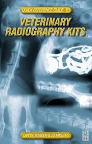 Cover of: Practical Veterinary Procedures - Quick Reference Guide to Veterinary Equipment, Radiology Kit | Carole Martin