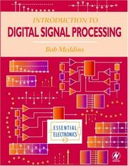 Cover of: Introduction to digital signal processing | Bob Meddins