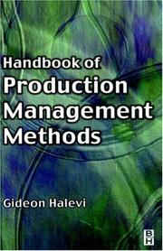 Cover of: Handbook of Production Management Methods