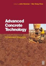 Cover of: Advanced Concrete Technology 1 |