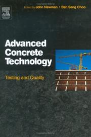 Cover of: Advanced Concrete Technology 4 |