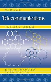 Cover of: Newnes Telecommunication Engineer's Pocket Book