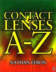 Cover of: Contact Lenses A-Z