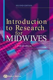 Cover of: Introduction to Research for Midwives