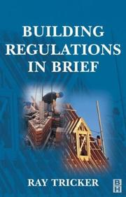 Cover of: Building regulations in brief