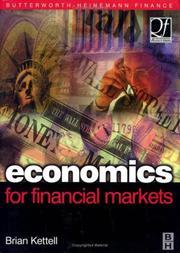 Economics for Financial Markets (Quantitative Finance) (Quantitative Finance)