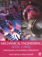 Cover of: Mechanical engineering level 2 NVQ by
