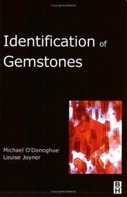 Cover of: Identification of Gemstones | Michael O