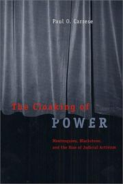 Cover of: The Cloaking of Power