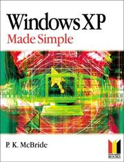 Cover of: Windows XP Made Simple | P. K. McBride