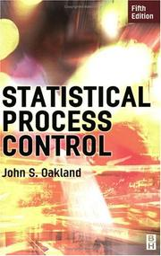 Cover of: Statistical Process Control