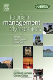 Cover of: Tourism Management Dynamics | Dimitrios Buhalis