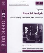 Cover of: CIMA Study System 05: Financial Analysis