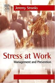 Cover of: Stress at work