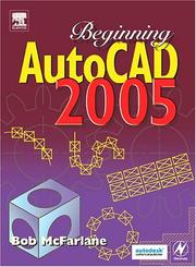 Cover of: Beginning AutoCAD 2005