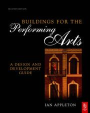 Cover of: Buildings for the Performing Arts