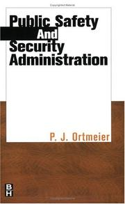 Cover of: Public safety and security administration