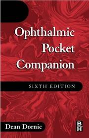 Cover of: Ophthalmic pocket companion