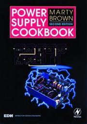 Cover of: Power supply cookbook