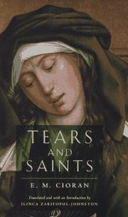 Cover of: Tears and saints
