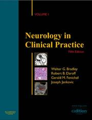 Cover of: Neurology in Clinical Practice e-dition | Walter G. Bradley