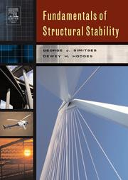 Fundamentals of structural stability by George J. Simitses