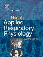 Nunn's applied respiratory physiology.