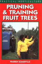 Cover of: Pruning and training fruit trees