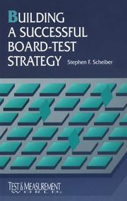 Cover of: Building a successful board-test strategy
